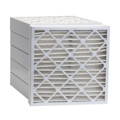 """ComfortUp WP25S.0412H24H - 12 1/2"""" x 24 1/2"""" x 4 MERV 13 Pleated Air Filter - 6 pack"""
