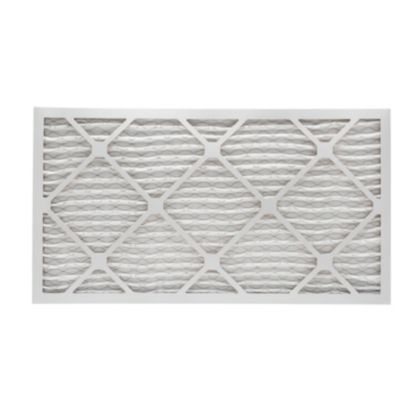 "ComfortUp WP80S.0117H35D - 17 1/2"" x 35 1/4"" x 1 Premium MERV 8 Pleated Air Filter - 6 pack"