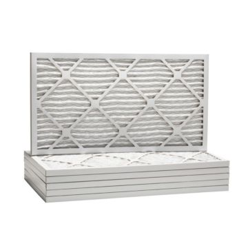 "ComfortUp WP80S.010726H - 7"" x 26 1/2"" x 1 Premium MERV 8 Pleated Air Filter - 6 pack"