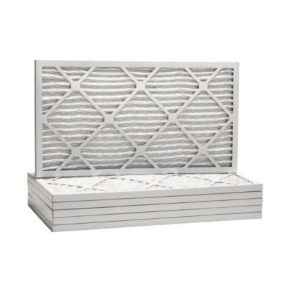 "ComfortUp WP80S.0107H07H - 7 1/2"" x 7 1/2"" x 1 Premium MERV 8 Pleated Air Filter - 6 pack"