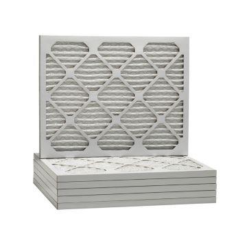 ComfortUp WP80S.011321H - 13 x 21 1/2 x 1 MERV 8 Pleated HVAC Filter - 6 Pack