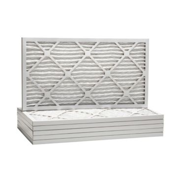 "ComfortUp WP80S.011427H - 14"" x 27 1/2"" x 1 Premium MERV 8 Pleated Air Filter - 6 pack"