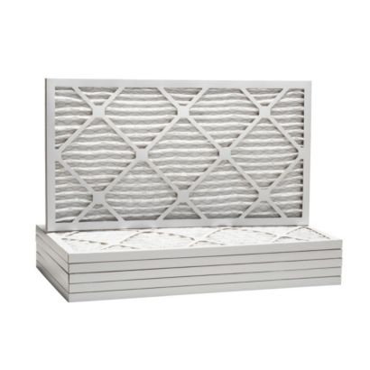 """ComfortUp WP80S.011632 - 16"""" x 32"""" x 1 MERV 8 Pleated Air Filter - 6 pack"""