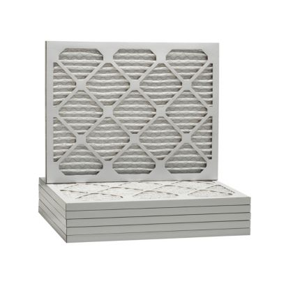 ComfortUp WP80S.0116F21H - 16 3/8 x 21 1/2 x 1 MERV 8 Pleated HVAC Filter - 6 Pack