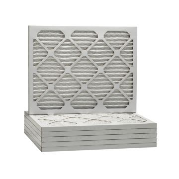 ComfortUp WP80S.0116H21K - 16 1/2 x 21 5/8 x 1 MERV 8 Pleated HVAC Filter - 6 Pack