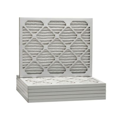 "ComfortUp WP80S.011729H - 17"" x 29 1/2"" x 1 Premium MERV 8 Pleated Air Filter - 6 pack"