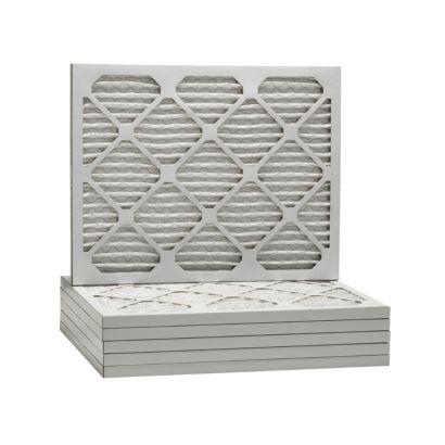 ComfortUp WP80S.0121D23D - 21 1/4 x 23 1/4 x 1 MERV 8 Pleated HVAC Filter - 6 Pack