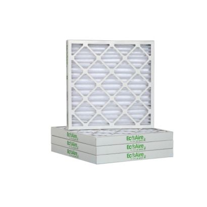"""ComfortUp WP80S.021321H - 13"""" x 21 1/2"""" x 2 MERV 8 Pleated Air Filter - 6 pack"""