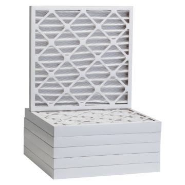 """ComfortUp WP80S.022121 - 21"""" x 21"""" x 2 MERV 8 Pleated Air Filter - 6 pack"""