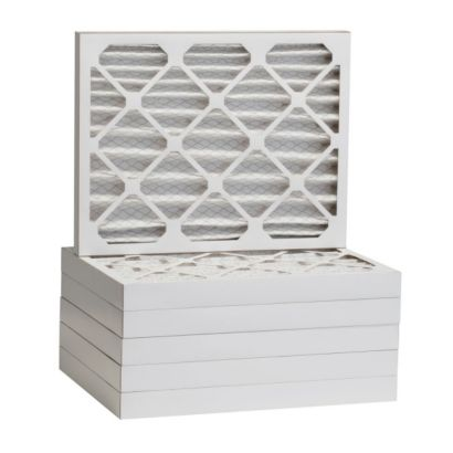 """ComfortUp WP80S.022123 - 21"""" x 23"""" x 2 MERV 8 Pleated Air Filter - 6 pack"""