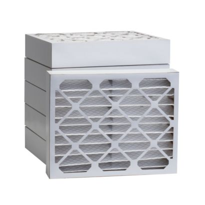 """ComfortUp WP80S.0412D15 - 12 1/8"""" x 15"""" x 4 MERV 8 Pleated Air Filter - 6 pack"""