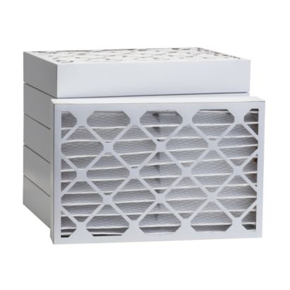 "ComfortUp WP80S.041321H - 13"" x 21 1/2"" x 4 MERV 8 Pleated Air Filter - 6 pack"