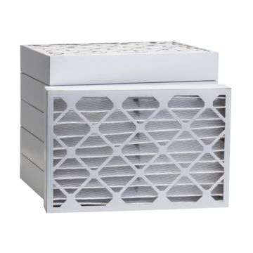 """ComfortUp WP80S.041420 - 14"""" x 20"""" x 4 MERV 8 Pleated Air Filter - 6 pack"""