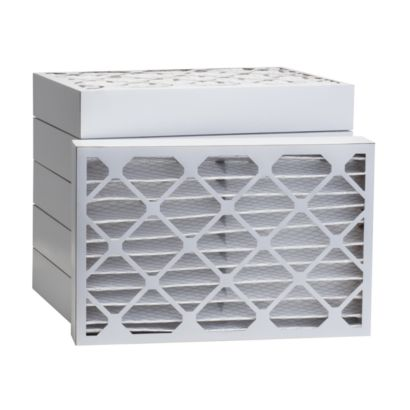 """ComfortUp WP80S.042030 - 20"""" x 30"""" x 4 MERV 8 Pleated Air Filter - 6 pack"""