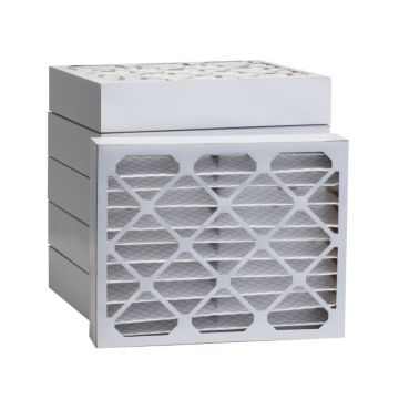 "ComfortUp WP80S.0421D23D - 21 1/4"" x 23 1/4"" x 4 MERV 8 Pleated Air Filter - 6 pack"