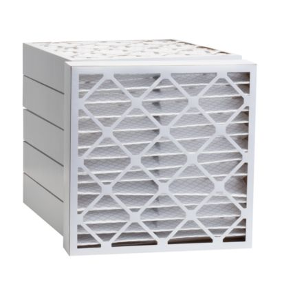 """ComfortUp WP80S.0421H21H - 21 1/2"""" x 21 1/2"""" x 4 MERV 8 Pleated Air Filter - 6 pack"""