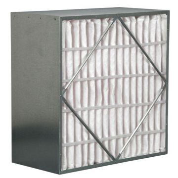 """ComfortUp WR256S.061224 - 12"""" x 24"""" x 6 65% With Header Rigid Filter - 1 pack"""