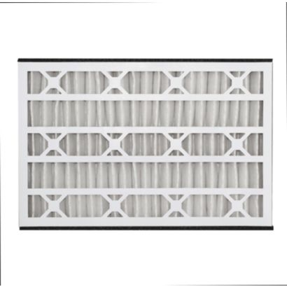 """ComfortUp WRDPAB031625M08CE - Carrier 16"""" x 25"""" x 3  MERV 8 Whole House Replacement Air Filter - 3 pack"""