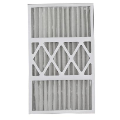 """ComfortUp WRDPCA051625M08EA - Electro-Air 16"""" x 25"""" x 5 MERV 8 Whole House Replacement Air Filter - 2 pack"""