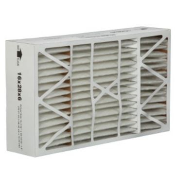 "ComfortUp WRDPAA061628M08SG - Space-Gard 16"" x 28"" x 6 MERV 8 Whole House Replacement Air Filter - 2 pack"