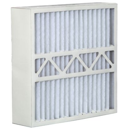 """ComfortUp WRDPCA052025M08YK - York 20"""" x 25"""" x 5 MERV 8 Whole House Replacement Air Filter - 2 pack"""