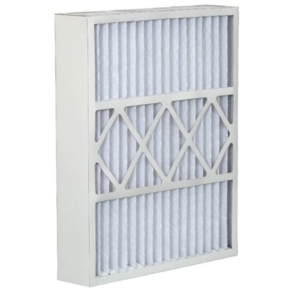 "ComfortUp WRDPHW052020M08YK - York 20"" x 20"" x 5 MERV 8 Whole House Replacement Air Filter - 2 pack"