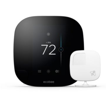 ecobee EB-STATE3-01 -  Smart Wi-Fi Thermostat (7 Day Programmable) with Remote Sensor