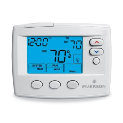 Emerson 1F80-0471 - Blue Programmable Thermostat (GE/HP: 1H/1C)