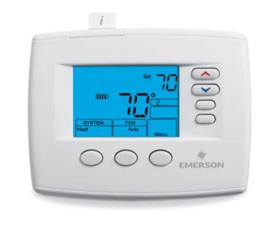 "Emerson 1F83-0471 - Blue 4"" Display, Universal Digital Thermostat"