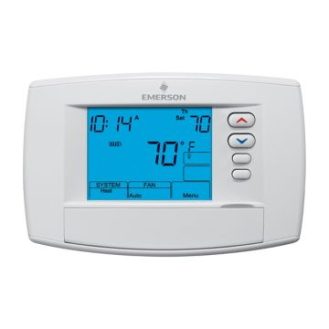 """Emerson 1F95-0680 - Emerson Blue 6"""" Programmable Commercial Thermostat"""