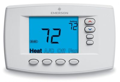 Emerson 1F95EZ-0671 - Blue Easy Reader Universal Compatible Thermostat