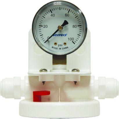Everpure 4623-01 - Nu-Plus CFS Single Head with Pressure Ga. Water Filtration System