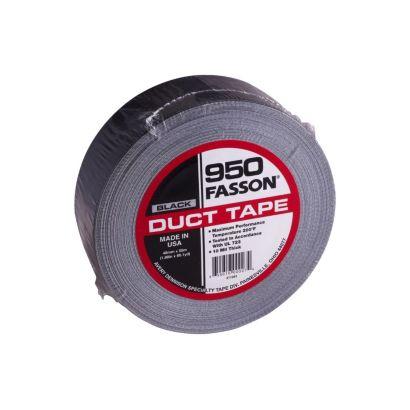 "Fasson 950B - Black Cloth Duct Tape 2"""