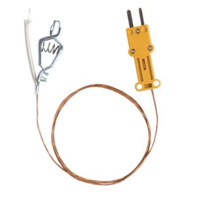 Fieldpiece ATAF1 - High Temperature K-Type Thermocouple with Alligator Clip