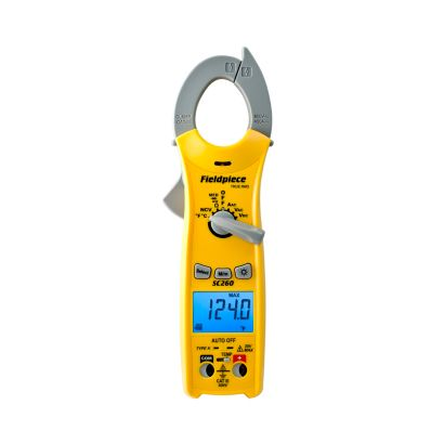 Fieldpiece SC260 - Compact Clamp Meter with True RMS and Magnet (Replaces SC46, SC53)