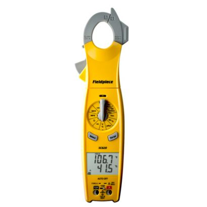 Fieldpiece SC620 - Loaded Clamp Meter with Swivel Head (Replaces SC54, SC76)