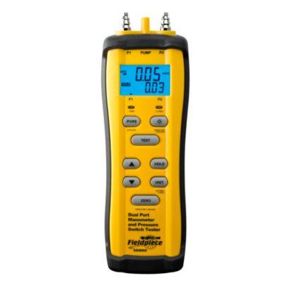Fieldpiece SDMN6 - Dual Pressure Manometer/Draft Simulator
