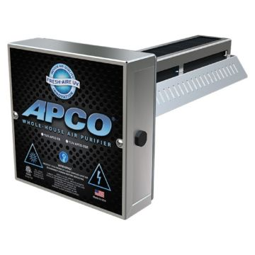 Fresh-Aire UV TUV-APCO-ER - In-duct Air Purifier, 18-32 VAC, 1 year lamp