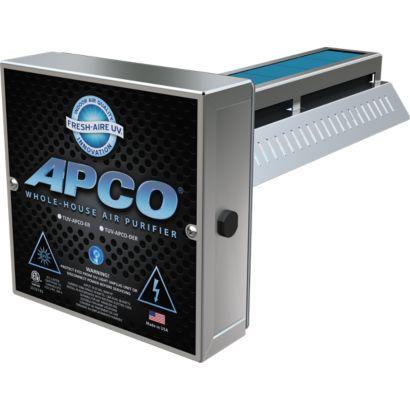 Fresh-Aire UV TUV-APCO-SI-4 - UV In-Duct Air Purifier, 1 Year Bulb, 110/277V (4 Pack)