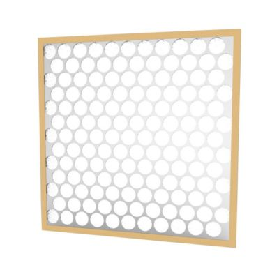 """Glasfloss PTA14201-6 - 14"""" x 20"""" x 1"""" Synthetic Heavy-Duty Disposable Panel Filter, Metal Grid - 6 pack"""