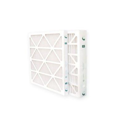 "Glasfloss ZLP14241-6 - 14"" x 24"" x 1"" MERV 10 Z-Line Standard Capacity Pleated Filter - 6 pack"