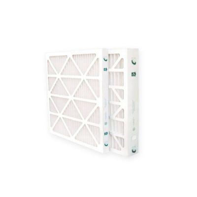 "Glasfloss ZLP20221-6 - 20"" x 22"" x 1"" MERV 10 Z-Line Standard Capacity Pleated Filter - 6 pack"