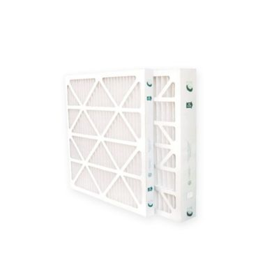 "Glasfloss ZLP20241-6 - 20"" x 24"" x 1"" MERV 10 Z-Line Standard Capacity Pleated Filter - 6 pack"