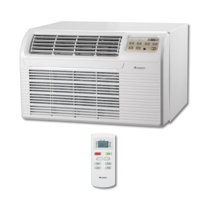 GREE 26TTW09HC230V1A - 9,300 BTU 9.8 EER Thru-The-Wall Air Conditioner 208-230V