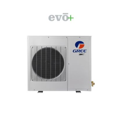 GREE GWH09AB-D3DNA2D/O - 9,000 BTU 23 SEER EVO+ Ductless Mini Split Heat Pump Outdoor Unit 208-230V