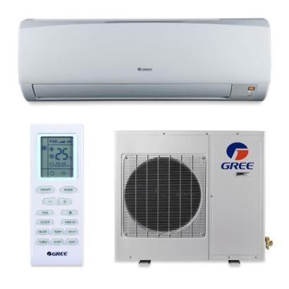 Gree GWH18KG-D3DNB1C - 18,000 BTU 16 SEER RIO Wall Mount Ductless Mini Split Air Conditioner Heat Pump 208-230V