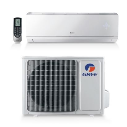 Gree LIVS09HP230V1A - 9,000 BTU 16 SEER LIVO Wall Mount Ductless Mini Split Air Conditioner Heat Pump 208-230V