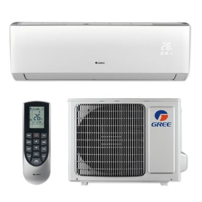 Gree LIVS09HP230V1B - 9,000 BTU 16 SEER LIVO+ Wall Mount Ductless Mini Split Air Conditioner Heat Pump 208-230V