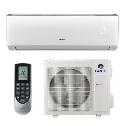 Gree LIVS30HP230V1B - 30,000 BTU 16 SEER LIVO+ Wall Mount Ductless Mini Split Air Conditioner Heat Pump 208-230V