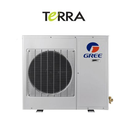 GREE TERRA LE 12,000 BTU Ductless Mini-Split Heat Pump Outdoor Unit 208-230V/1Ph/60Hz